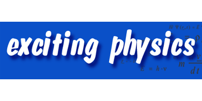 Logo von exciting physics
