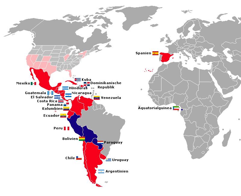 Spanisch Wo